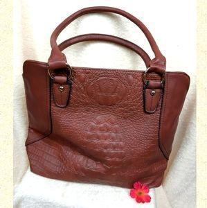 Brown shoulder bag NWOT excellent!